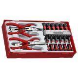 16-elementowy zestaw wkrętaków precyzyjnych i szczypiec Teng Tools TTMI16