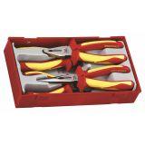 4-elementowy zestaw szczypiec 1000V Teng Tools TTV440