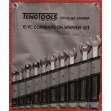 10-elementowy zestaw kluczy płasko-oczkowych 8-19 mm Teng Tools 6510MM