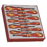 10-elementowy zestaw wkrętaków 1000V Teng Tools TTDV910N