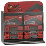 """Pojemnik ekspozycyjny z zestawami kluczy nasadowych 1/4"""" i wkrętaków precyzyjnych Teng Tools MIBT2M01"""