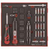 95-elementowy zestaw wkrętaków i grotów wymiennych Teng Tools TEDSD95