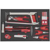 25-elementowy zestaw narzędzi, Teng Tools TTEPS25
