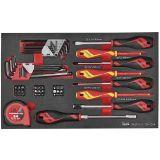 54-elementowy zestaw wkrętaków Teng Tools TEFMD54