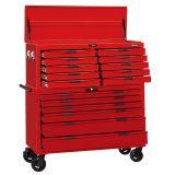 Wózek narzędziowy serii 800 Teng Tools TCW816LNSTACK - bez narzędzi