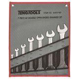 Klucze płaskie stałe w zestawie Teng Tools 6607AF